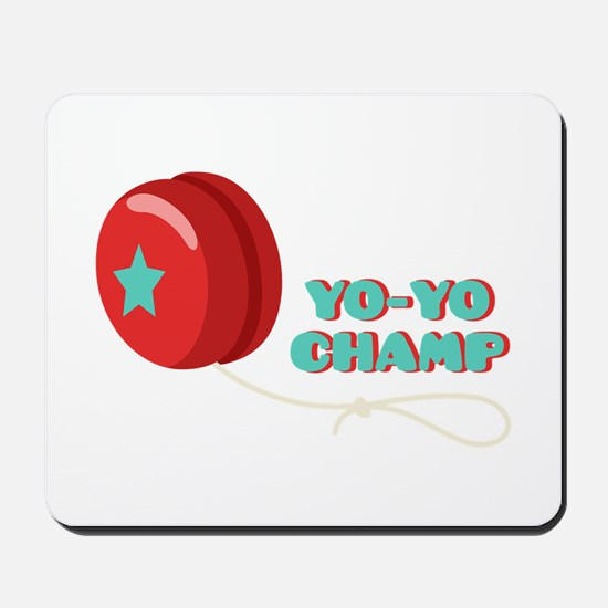 Yo-Yo Champ Mousepad