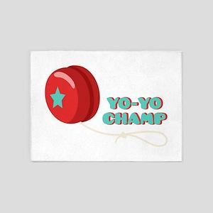 Yo-Yo Champ 5'x7'Area Rug