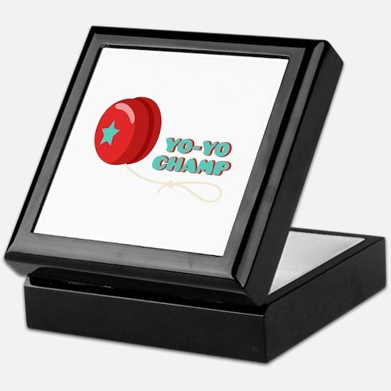 Yo-Yo Champ Keepsake Box