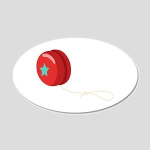 Yo-Yo Toy Wall Decal