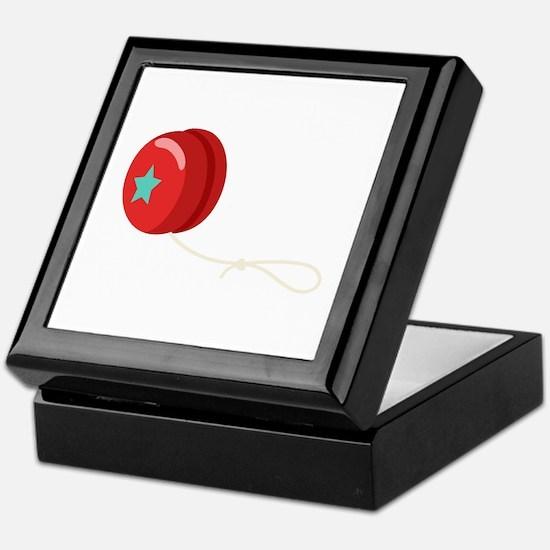 Yo-Yo Toy Keepsake Box