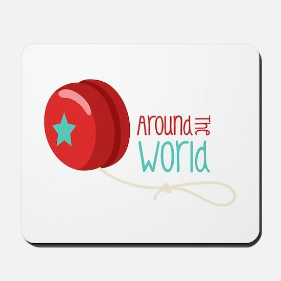 Around The World Mousepad