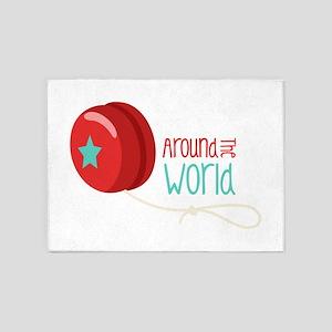 Around The World 5'x7'Area Rug