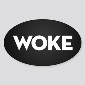 Woke Sticker (Oval)