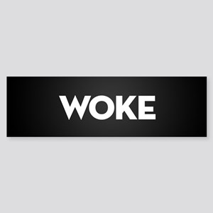 Woke Sticker (Bumper)