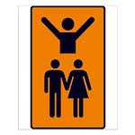 Tarot Lovers Small Poster