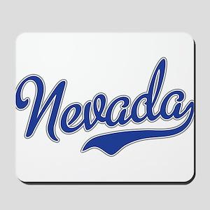 Nevada Script Font Mousepad