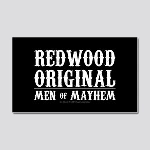 SOA Men of Mayhem Car Magnet 20 x 12