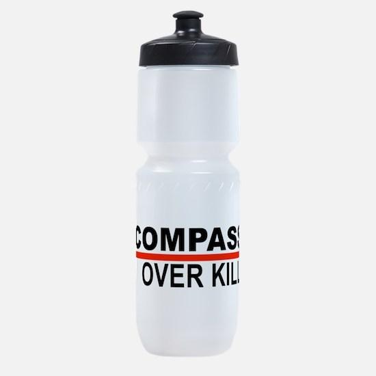 Compassion Over Killing Sports Bottle