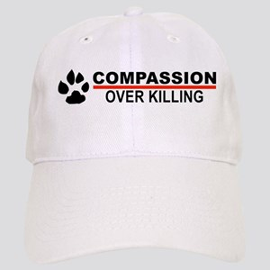 Compassion Over Killing Baseball Cap