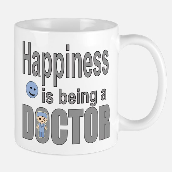 Happiness is being a Doctor Mugs