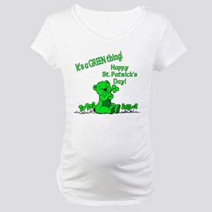 It's a Green Thing Maternity T-Shirt