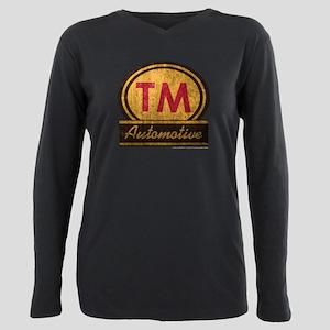 SOA TM Automotive Plus Size Long Sleeve Tee