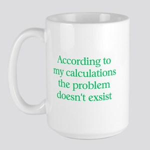 Accountant Large Mug