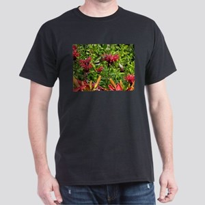 Hummingbirds on Red Bee Balm T-Shirt