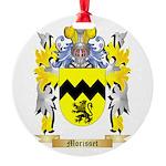 Morisset Round Ornament