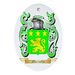 Moriotto Oval Ornament