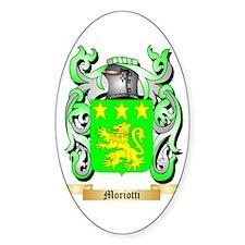 Moriotti Sticker (Oval)
