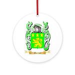 Morinet Round Ornament