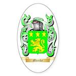 Morike Sticker (Oval 50 pk)