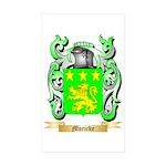 Moricke Sticker (Rectangle 50 pk)