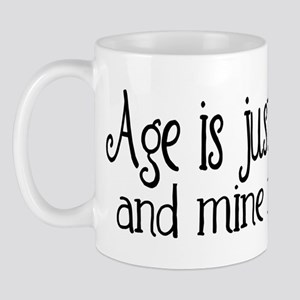 Age is Just a Number Mug
