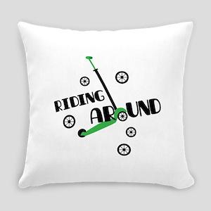 Riding Around Everyday Pillow