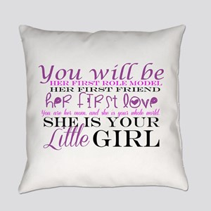 Daughter: Love Everyday Pillow