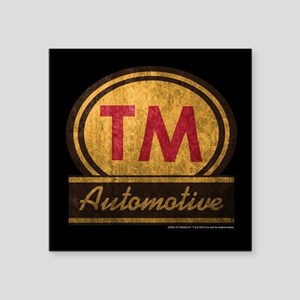"SOA TM Automotive Square Sticker 3"" x 3"""