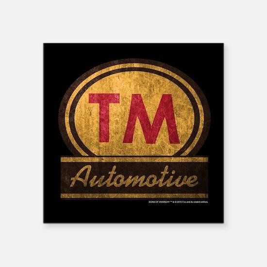 "SOA TM Automotive Square Sticker 3"" x 3"""