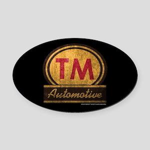 SOA TM Automotive Oval Car Magnet