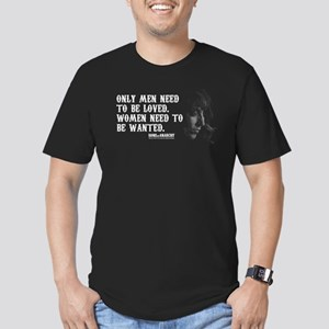 SOA Gemma Quote Men's Fitted T-Shirt (dark)