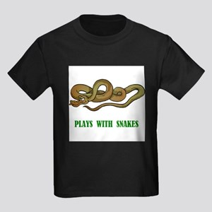 Plays With Snakes Ash Grey T-Shirt
