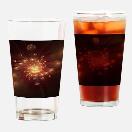 Night Bloom Drinking Glass