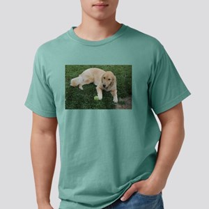 Nala young golden retriever with tennis ba T-Shirt