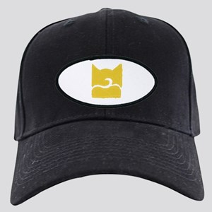 Windclan YELLOW Black Cap with Patch