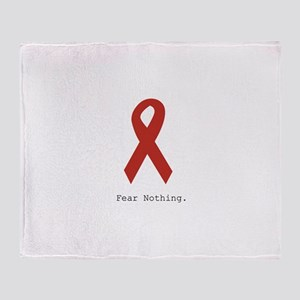 Red: Fear Nothing. Throw Blanket