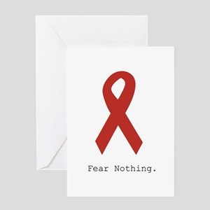 Red: Fear Nothing. Greeting Cards