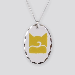 Windclan YELLOW Necklace Oval Charm
