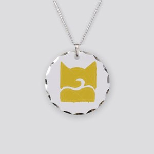 Windclan YELLOW Necklace Circle Charm