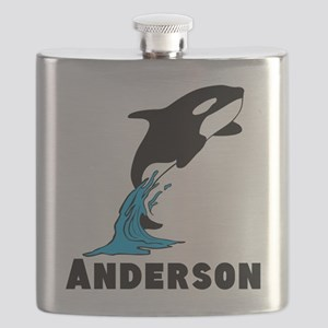 Personalized Killer Whale. Flask