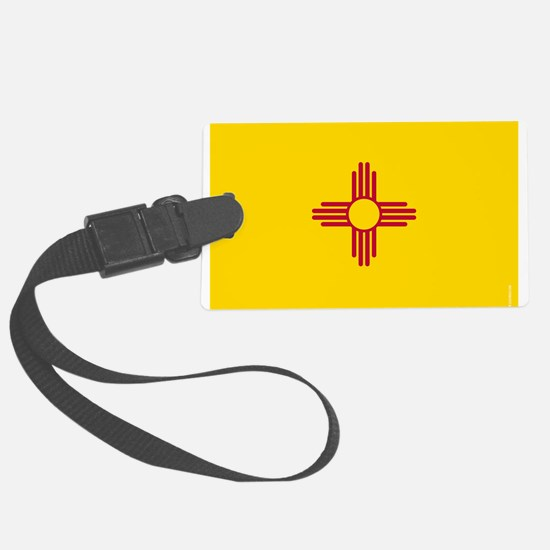 New Mexico State Flag Luggage Tag