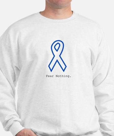 Blue Out: Fear Nothing Sweatshirt