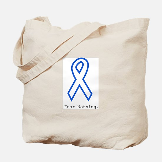 Blue Out: Fear Nothing Tote Bag