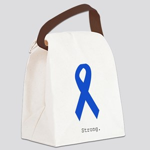 Blue Ribbon: Strong Canvas Lunch Bag