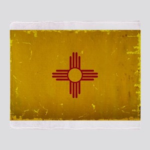 New Mexico State Flag VINTAGE Throw Blanket