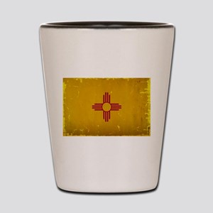 New Mexico State Flag VINTAGE Shot Glass
