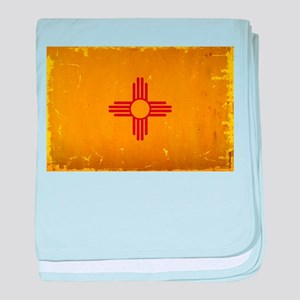 New Mexico State Flag VINTAGE baby blanket