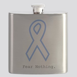 Light Blue: Fear Nothin Flask