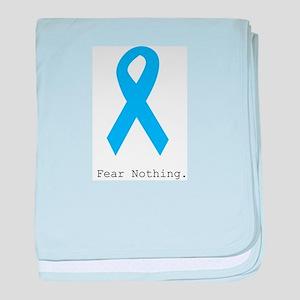 Light Blue: Fear Nothin baby blanket